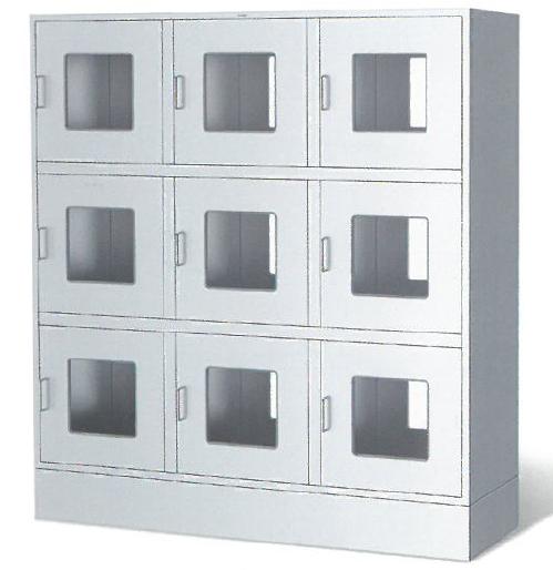六門互鎖雙通柜 醫院用不銹鋼雙通柜 紫外線消毒傳遞柜,互鎖雙通柜